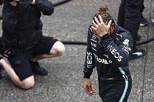 Hamilton a failli tout perdre dans la précipitation