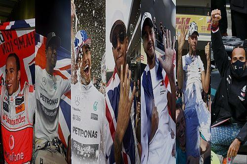 GALERÍA: dónde y cuándo Hamilton logró los 7 campeonatos de F1