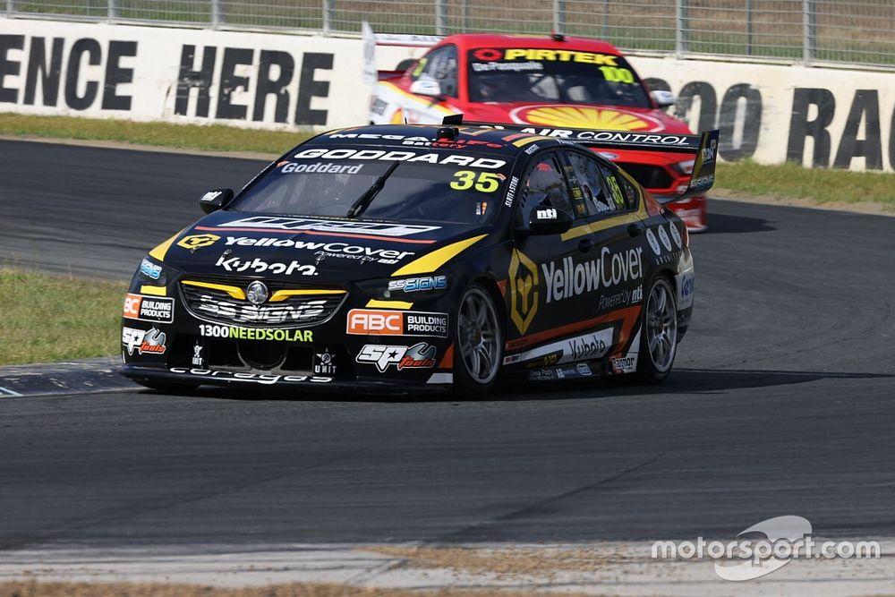 Goddard tops first pre-season Supercars test