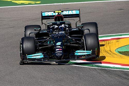 艾米利亚·罗马涅大奖赛FP1:博塔斯力压汉密尔顿、维斯塔潘居首