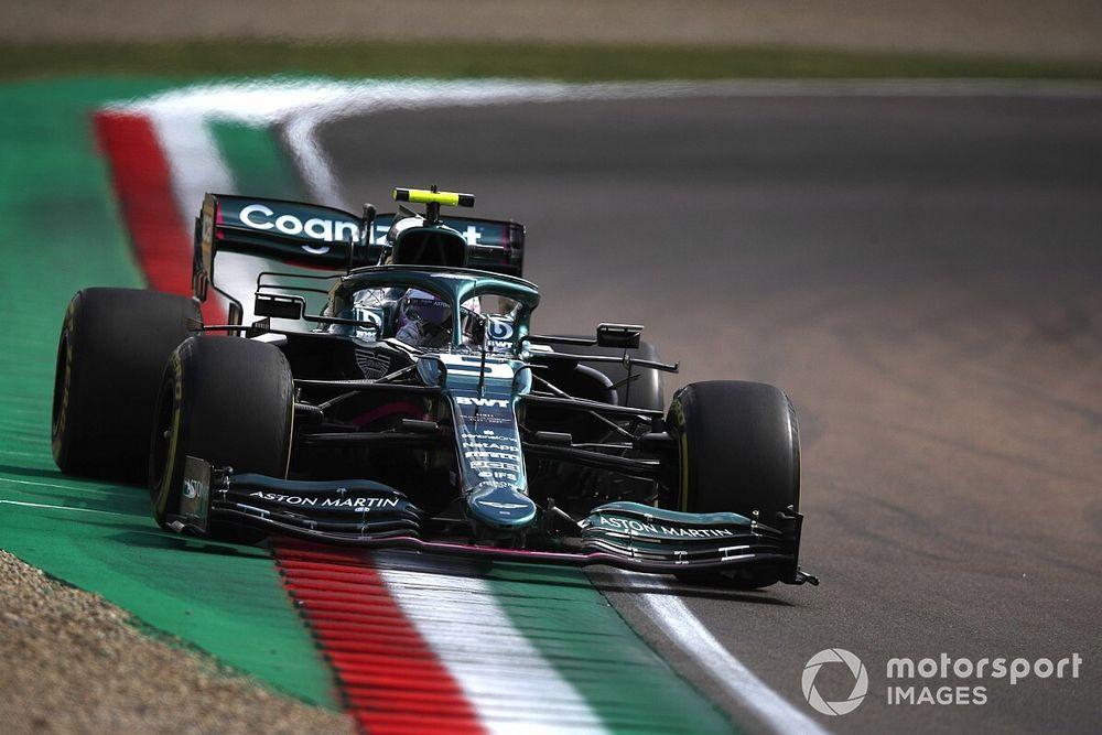 Vettel n'est pas encore à l'aise dans l'Aston Martin