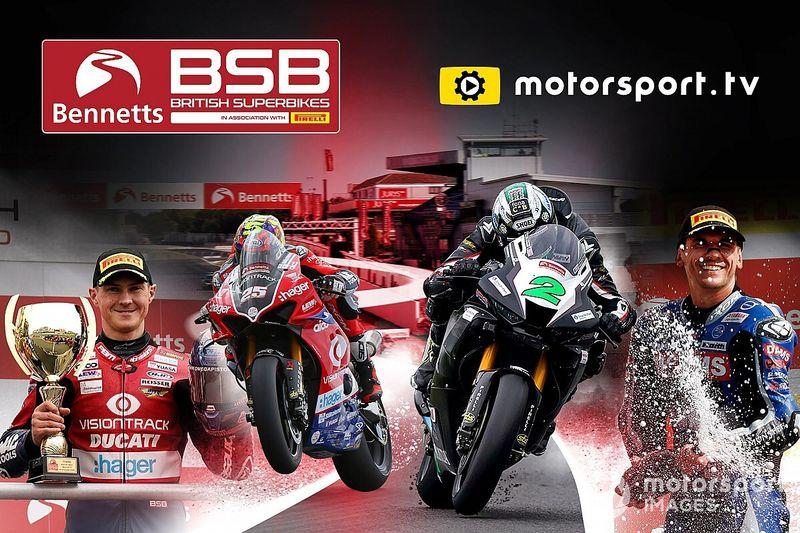 Bennetts British Superbike Championship lança canal dedicado na Motorsport.tv