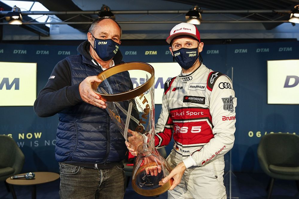 """Berger: Rast has """"all elements of a perfect driver"""""""