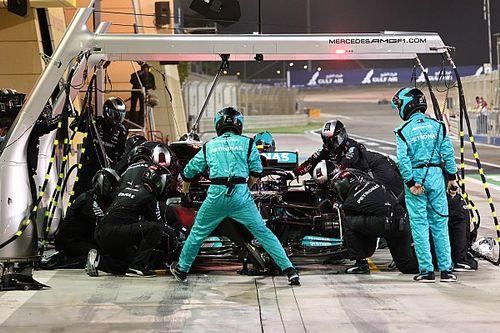 Mercedes: quel pit di Bottas con la pistola... automatica