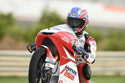 Moto3ヨーロッパ決勝:小椋藍が3位表彰台! アレナス失格でタイトル争いは超僅差