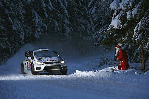 WRC u Świętego Mikołaja