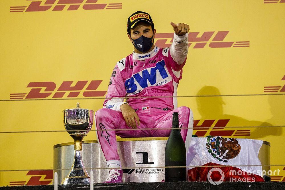 Red Bull felicitó a Pérez por su victoria en el GP de Sakhir