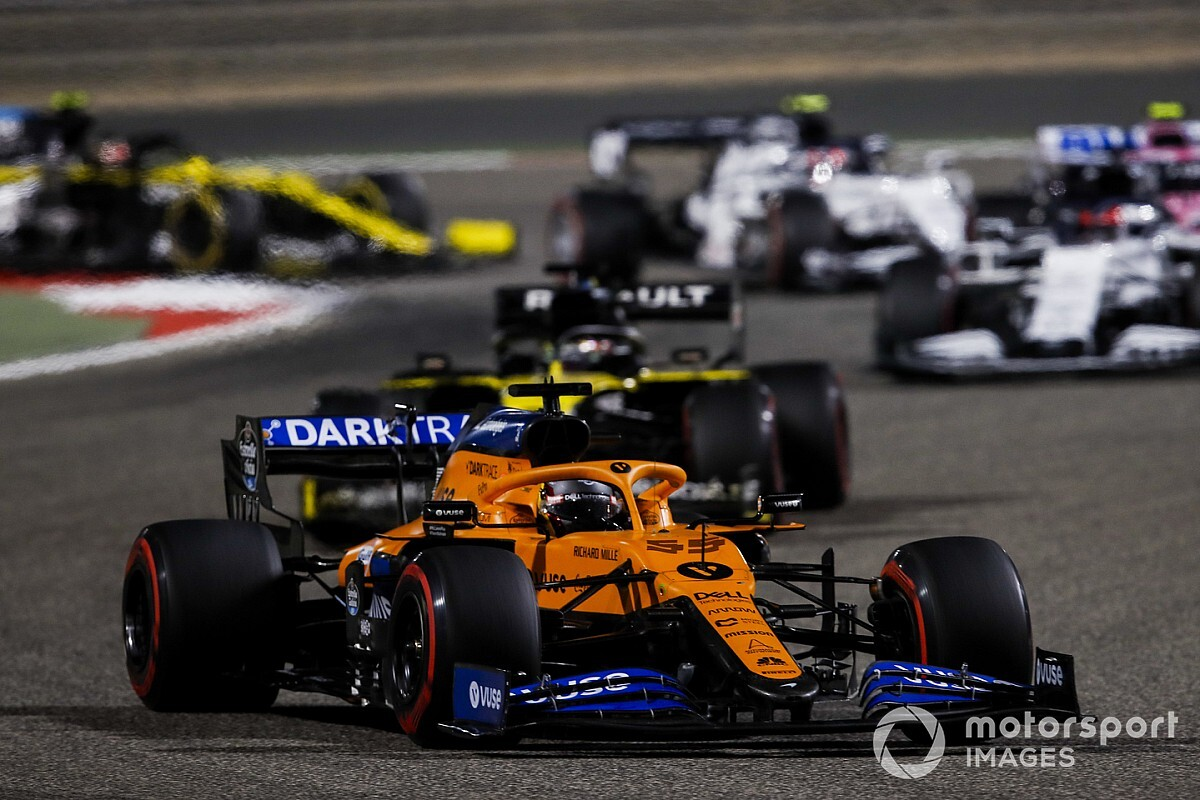 "McLaren baalt van safety car: ""Sainz was op jacht"""