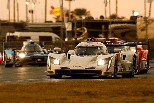 Cadillac lidera sobre Acura a ocho horas del final en Daytona