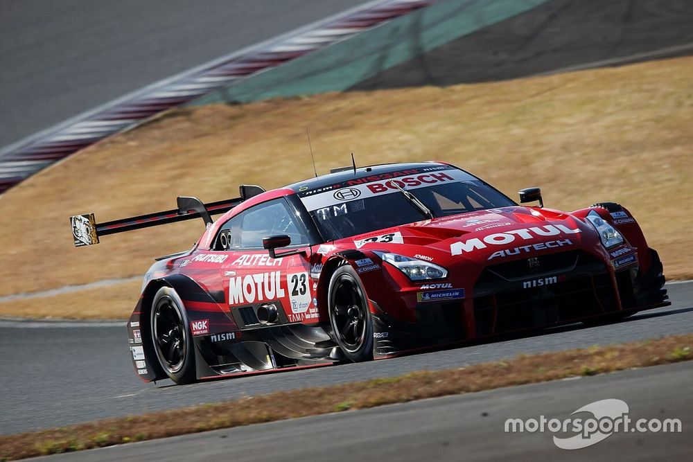 Nissan's Quintarelli unfazed by Fuji deficit to Toyota
