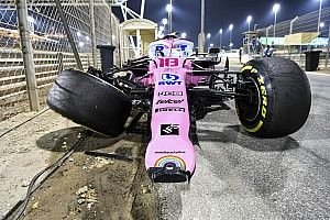 Racing Point didn't have enough spares after Bahrain clashes