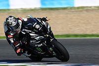 Kawasaki e Rea completano una giornata di test a Portimao