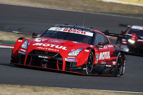 Nissan tops rain-hit final day of Super GT testing