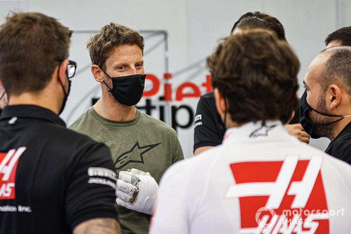 Grosjean végre visszatérhet a versenyzéshez