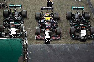La grille de départ du Grand Prix d'Abu Dhabi