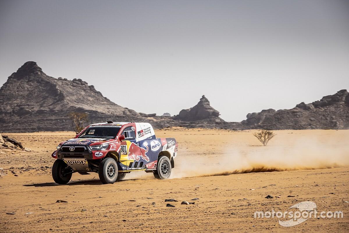 Autos, Étape 4 - Al-Attiyah gagne mais ne reprend rien à Peterhansel