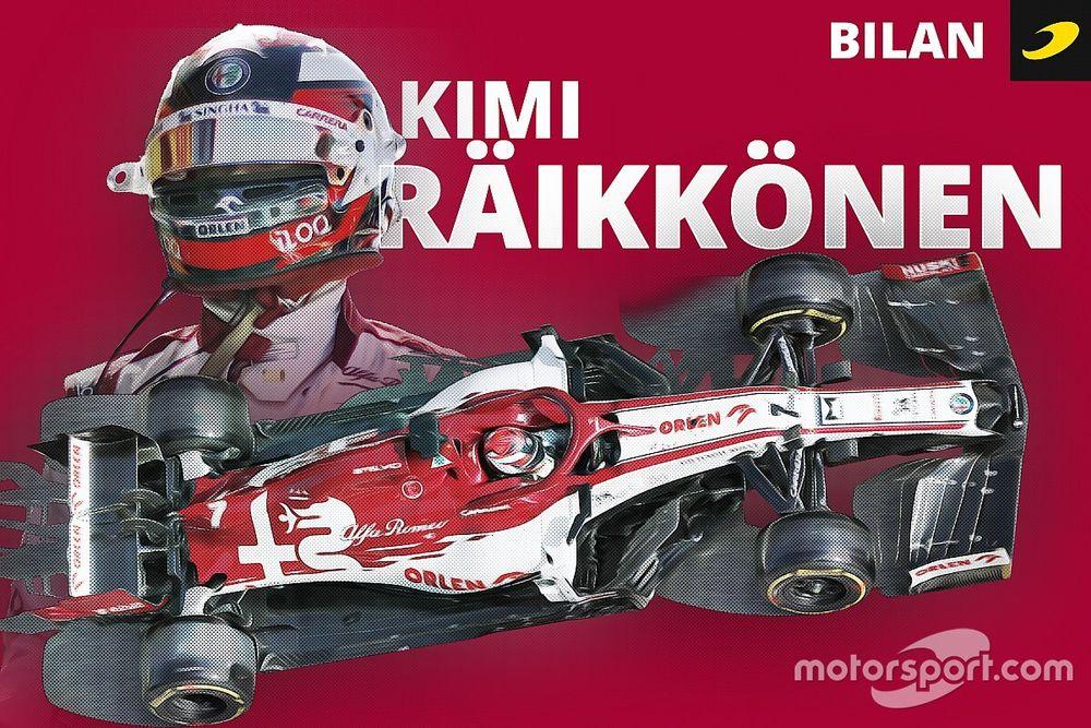 Bilan 2020 - La lueur de l'étoile Räikkönen se tarit