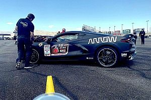 Schmidt, Arrow still inspiring with latest SAM Corvette