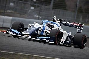 Oyu tops opening day of Fuji Super Formula test