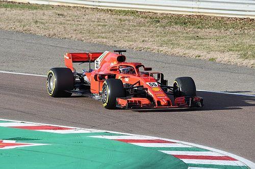 Sainz maakt in Fiorano eerste meters met Ferrari SF71H