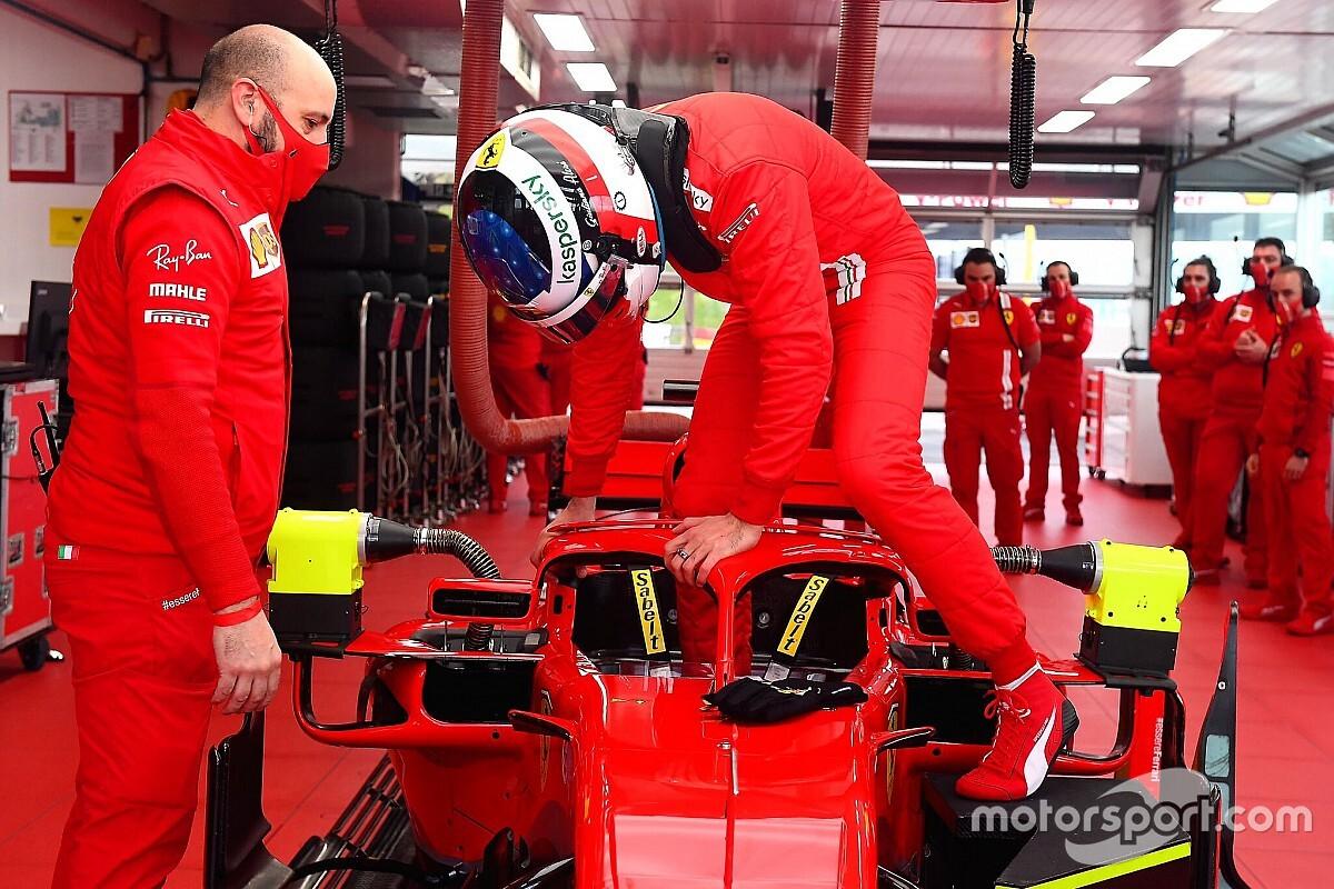 Alesi, Armstrong make Ferrari F1 test debuts at Fiorano