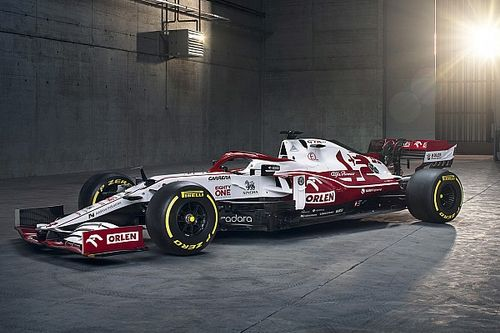 Alfa Romeo unveils its 2021 Formula 1 car