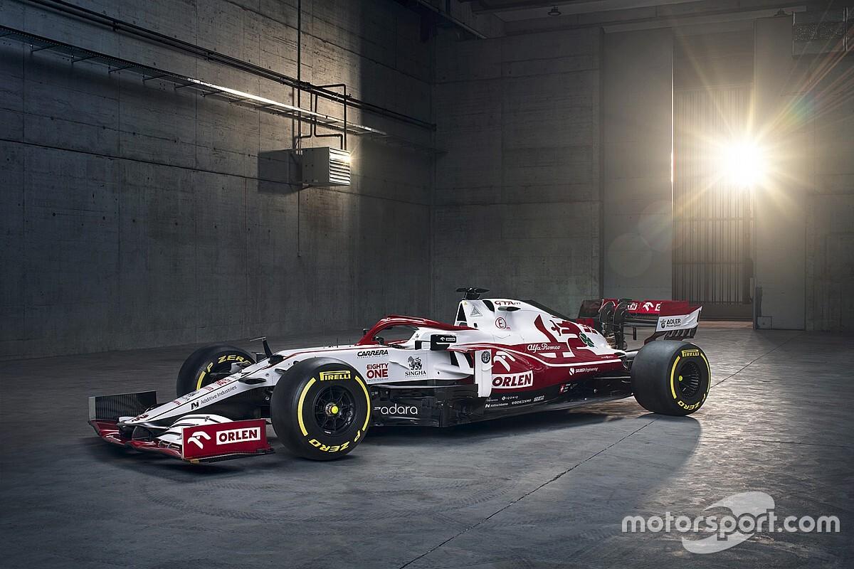 Alfa Romeo unveils its 2021 Formula 1 car thumbnail