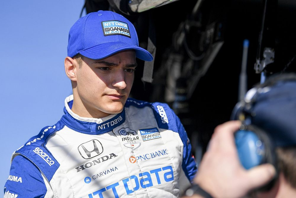 Portland IndyCar: Palou leads Castroneves in first practice