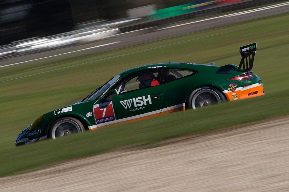 Porsche Cup: Salles mantém bom ritmo e faz a pole da GT3 em Curitiba