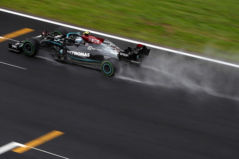 Hasil F1 GP Turki: Bottas Kuasai Trek Basah, Red Bull Podium Dobel