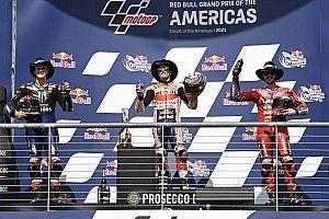 GP Amerika, Kali Ke-36 Pembalap Spanyol Podium Utama di Tiga Kelas