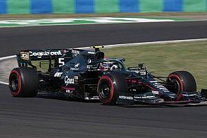 Vettel quedó conforme con su viernes pero quiere más