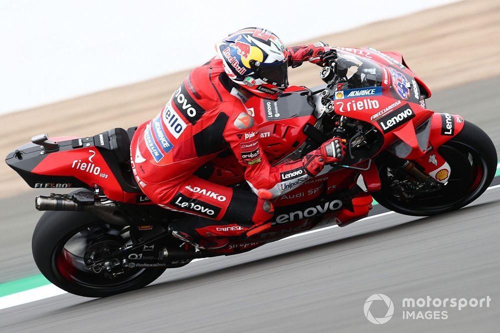 MotoGP Silverstone: Miller, üçüncü antrenmanda lider