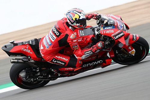 British MotoGP: Miller tops busy FP3 for Ducati