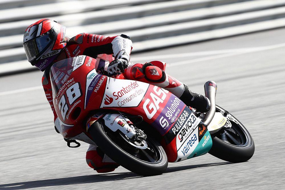 Moto3 Avusturya 3. antrenman: En hızlısı Guevara, Deniz ikinci!