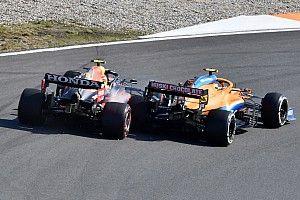 Pérez y su remontada en Zandvoort: Contacto con Norris afectó el coche