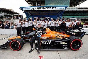 """O'Ward: Portland test put Arrow McLaren SP """"where we belong"""""""