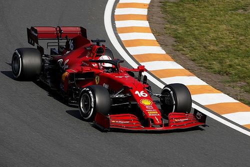 Dublet Ferrari, awaria Hamiltona