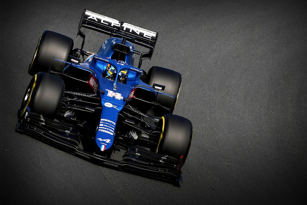 Alonso y Alpine, cautela ante el estreno con buen pie en Zandvoort