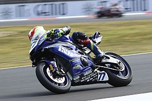 SSP, Magny-Cours, Libere: Aegerter comanda, indietro Odendaal