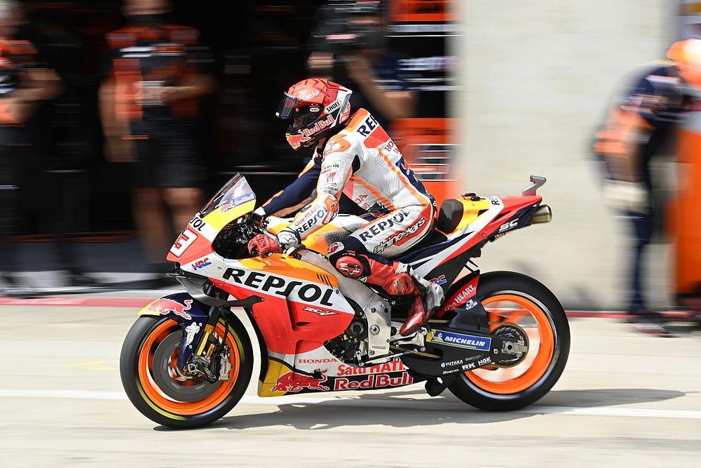 MotoGP Steiermark ısınma turları: Islak zeminde Marquez en hızlısı