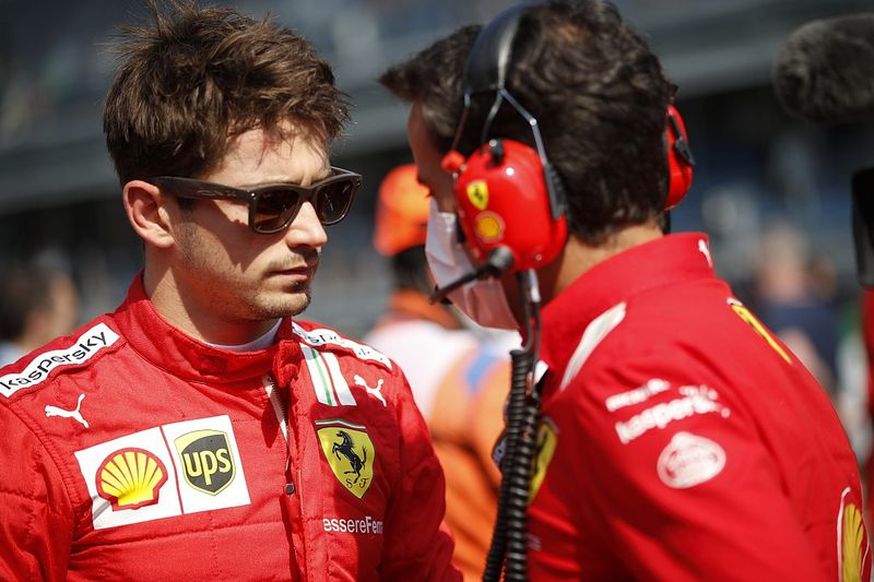 Ganti Mesin di Sochi, Charles Leclerc Start di Belakang
