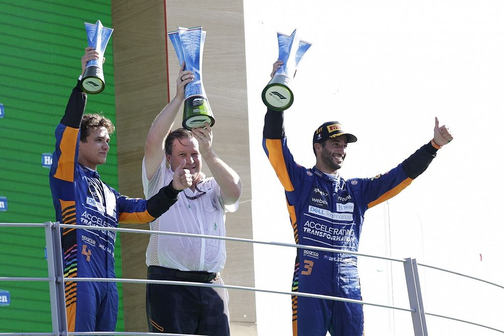 Statistik Impresif Daniel Ricciardo dan McLaren di F1 GP Italia