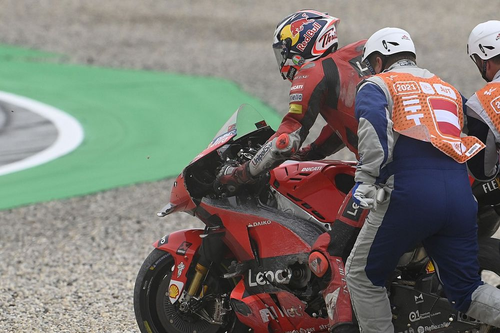 """Miller: Losing Styria MotoGP podium to crash """"really stung"""""""