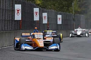 """Palou: Portland IndyCar race control was """"not right"""" re-ordering the pack"""