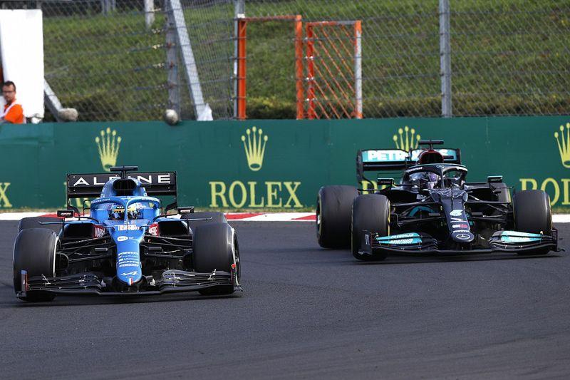 """Alonso: """"Hamilton cometía siempre los mismos errores"""""""