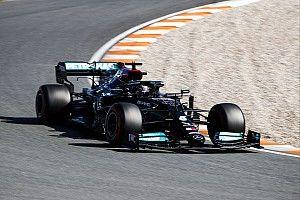 Hamilton se rinde ante Verstappen en Zandvoort... el sábado