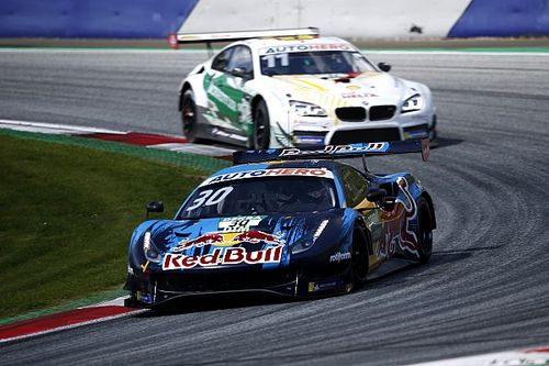 Red Bull Ring DTM: Lawson holds off Wittmann for double win
