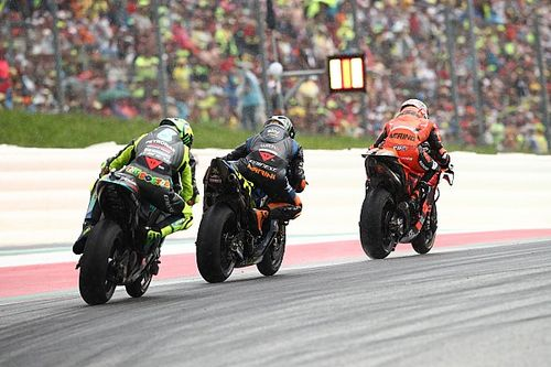 """Marini: """"Slick sul bagnato? Farei di peggio per un podio in MotoGP!"""""""