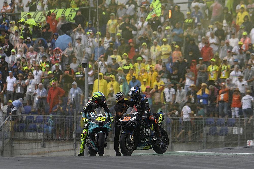 """Marini: """"Cuando iba a entrar a boxes Rossi me pasó y decidí seguir"""""""
